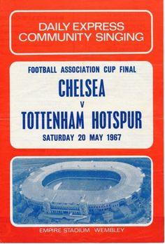 SONGSHEET-FA-Cup-Final-1967-Spurs-v-Chelsea