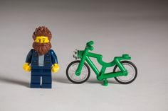 It was only a matter of time. At the request of the Guardian and to mark the start of Copenhagen fashion week, Danish company Lego have created the Lego hipsters – complete with oversized earphones, fixie bikes and (obviously) facial hair.