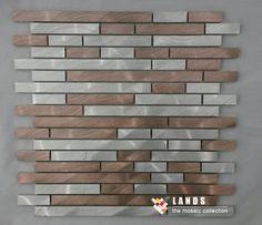 Modern Metal mosaic meshback tiles,Kitchen/TV Backsplash wall tiles,Aluminum self adhesive Mosaic Tiles home decor stick,LSALE08