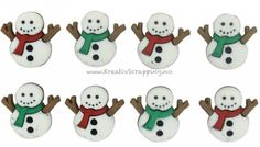 Dress It Up Button Embellishments. Fun embellishments for adding dimension to all of your scrapbook pages, cards, invitations, sewing and craft projects. Shaped plastic buttons, each measuring approximately x Cute Snowman, Snowmen, Jesse James, Button Dress, Scrapbook Pages, Embellishments, Hello Kitty, Craft Projects, Snoopy