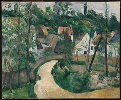 Tablouri paul cezanne - a turn in the road, 1881 | Tablouri celebre | tablouri canvas online