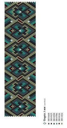 two+drop+peyote+stitch+patterns   peyote pattern overload