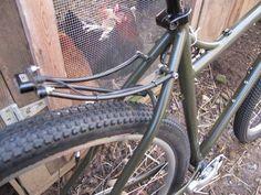 Custom Bantam Adventure Touring Frame and Custom Racks