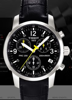 Tissot Men's T17152652 PRC 200 Quartz Watch