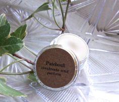 PATCHOULI solid perfume handmade solid perfume made by Sallybateau, $5.00