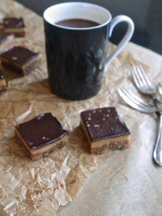 Annie's Hungry: Raw Caramel Slices (vegan, gluten free, raw)