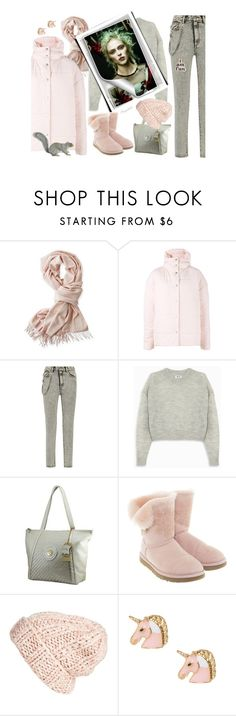 """""""Perfect Puffer Jacket"""" by ragnh-mjos ❤ liked on Polyvore featuring Mark & Graham, A.W.A.K.E., Marc Jacobs, Acne Studios, UGG, Free People and ban.do"""