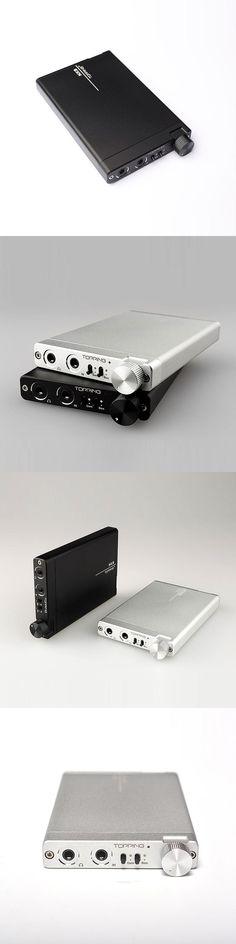 TOPPING NX3 Portable  Amplifier HIFI Stereo Audio Amp Chip TPA6120A2 128 dB dynamic range gain & bass control