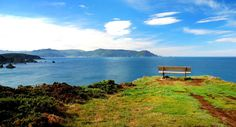 Acantilados de Loiba, litoral de Ortigueira, desde el banco más bonito del mundo. #Galicia #spain #visitspain