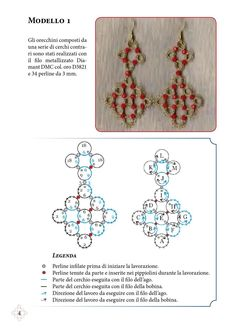 Tatting Earrings, Tatting Jewelry, Tatting Lace, Diy Jewelry, Needle Tatting Tutorial, Pattern Design, Free Pattern, Needle Tatting Patterns, Elo 7