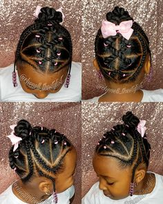 Kid Hairstyles 555490935290935850 - Source by kricyrelooking Rubber Band Hairstyles, Lil Girl Hairstyles, Girls Natural Hairstyles, Natural Hairstyles For Kids, Kids Braided Hairstyles, My Hairstyle, Natural Hair Styles, Toddler Hairstyles, Little Girl Braids