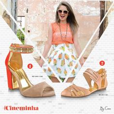 Cineminha hoje? Qual sapato combina mais com esse look?   #dúvidas #ajuda #camminare #shoes #inlove #winter