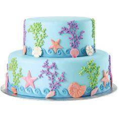 decoracion torta marina