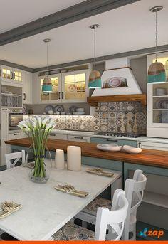 Preparar as refeições em uma cozinha bem decorada é muito gostoso. Mas o projeto deve ir além do quesito estético. É essencial que o ambiente seja prático e fácil de organizar. Saiba como acertar na decoração: