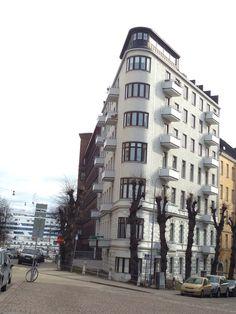 Street corner architect - Helsinki