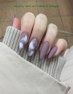 nail art designs for winter ; nail art designs for spring ; nail art designs with glitter ; nail art designs with rhinestones Acrylic Nails Natural, Best Acrylic Nails, Cute Acrylic Nails, Acrylic Nail Designs, Nail Art Designs, Nails Design, Glitter Nails, Rounded Acrylic Nails, Pastel Nails