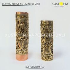 Balinese Style Engraving - Custom Sleeve for Limitless Mod.