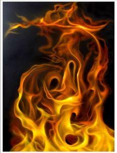 Online Airbrush Tutorial - True Fire Airbrush Art Watercolor Cat, Painting Studio, Airbrush Art, Custom Paint, Art School, Fire, Gallery, Artwork, Work Of Art