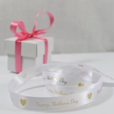Personalised st Patrick's day printed ribbon supplied on a roll, bespoke ribbon, gift wrapping, happy mother's day ribbon Personalized Ribbon, Printed Ribbon, Happy Mothers Day, St Patricks Day, Gift Wrapping, Place Card Holders, Prints, Inspiration, Paper Wrapping
