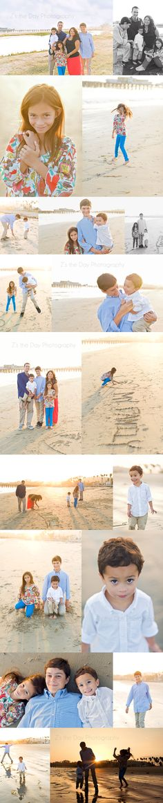 lifestyle beach family photo session {Santa Barbara Photographer Z's the Day}