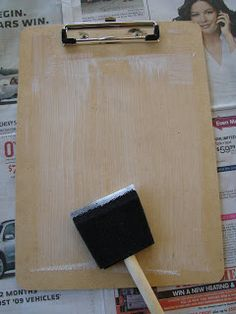 How to Make Decorative Clipboards {Cute, Thrifty Gift!} - The Frugal Girls