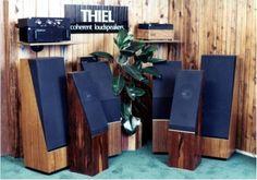 Vintage Thiel speaker line.