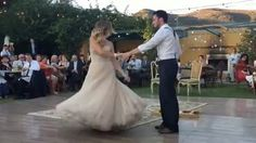 Bending over backwards for his bride