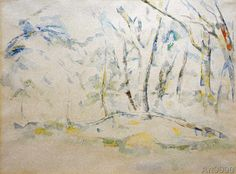 Paul+Cézanne+-+Unterholz