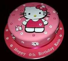 10 Hello Kitty Cake Decorations Ideas | CAKE DESIGN AND ...