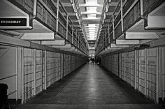 Broadway Walkway In Alcatraz Prison. By RicardMN Photography