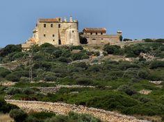 Torre del Ram. Ciutadella Buildings, Spain, Farmhouse, Mansions, House Styles, Balearic Islands, Towers, Castles, Scenery