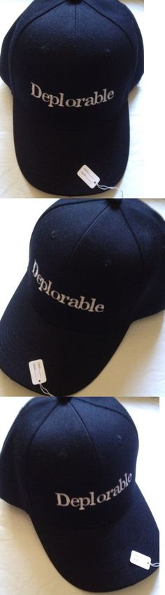 donald trump: Republican Make America Great Again Hat Donald Trump Deplorable 2016 Embroidered -> BUY IT NOW ONLY: $14.98 on eBay!