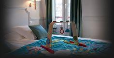 Hotel de la Porte Doree - Paris, France - apparently very child friendly, let's hope!