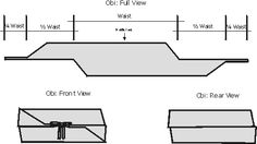 obi belt pattern - Google Search
