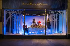 Marks & Spencers Christmas Windows | Believe in Magic & Sparkle, 2013 by Millington Associates