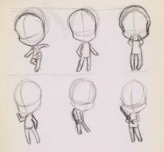 Chibi Pose Practice by ~tsukino-hikaru on deviantART