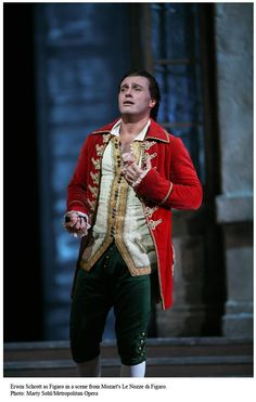 Costume from the Marriage of Figaro.