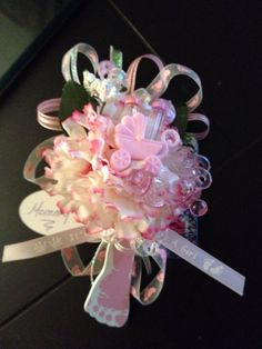 Baby Shower Corsages Dozen By TNTDynomiteWV On Etsy, $36.00
