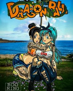 sexy Chichi and Bulma Dragon Ball Gt, Goku Cosplay, Mega Anime, Fan Art Anime, Manga Dragon, Bd Comics, Anime Style, Manga Art, Anime Characters