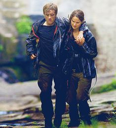 lovers :) Peeta and Katniss