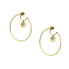 Earrings made of silver 925 with natural pearls Hoop Earrings, Pearls, Natural, Bracelets, Silver, Gold, Jewelry, Jewlery, Jewerly