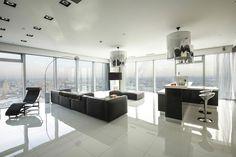 Thiết kế nội thất chung cư ấn tượng sang trọng