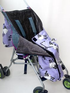 Looking for your next project? You're going to love Warm Buggy Bag Sewing Pattern by designer Tutorial GIrl.