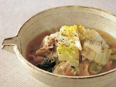 白菜と豚バラ肉の煮物レシピ 講師は村田 吉弘さん|使える料理レシピ集 みんなのきょうの料理 NHKエデュケーショナル