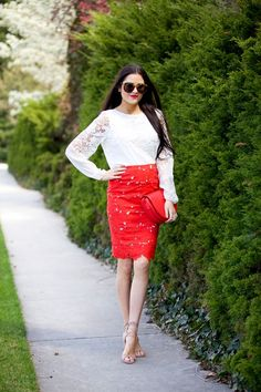 Four Outfit Ideas For Spring…