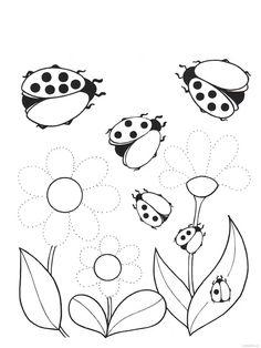 Risultati immagini per pracovní listy jaro April Preschool, Preschool Writing, Easy Drawings For Kids, Drawing For Kids, Daycare Themes, Kindergarten Portfolio, Motor Skills Activities, Pre Writing, Spring Activities