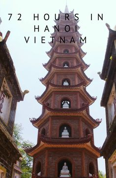 3 day guide to Hanoi, Vietnam