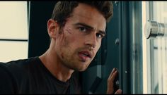 Gorgeously hot Divergent Four, Tris And Four, Divergent Trilogy, Divergent Insurgent Allegiant, Theo James, James 4, Fandom Quotes, Veronica Roth, Shailene Woodley