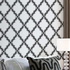 Agora wall pattern stencil - Moroccan wall stencils - Trendy home decor