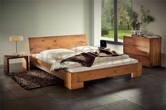 Natural Oak Oiled Solid Wooden Bed